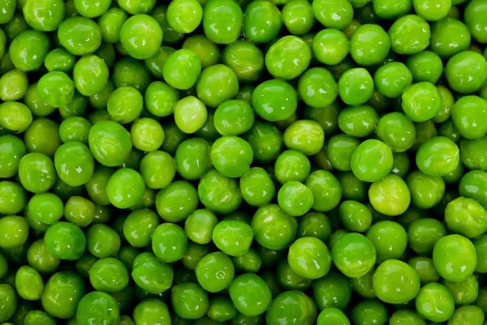 high-value vegetables-peas